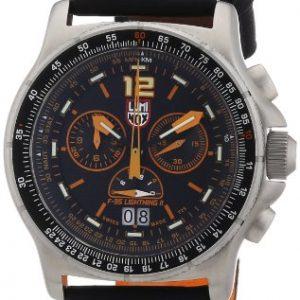 Luminox-GGLL9388-9388-Reloj-crongrafo-de-cuarzo-para-hombre-correa-de-cuero-color-negro-0