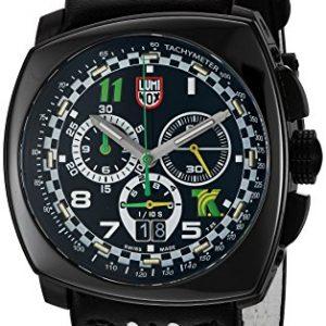 Luminox-Reloj-de-hombre-cuarzo-suizo-crongrafo-correa-de-cuero-genuino-1142-0