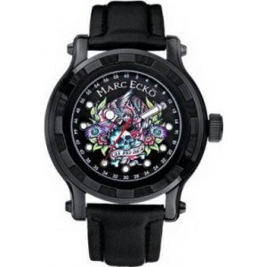 Marc-Ecko-E16580G1-el-diseo-de-reloj-para-hombre-con-esfera-negra-y-correa-de-piel-0