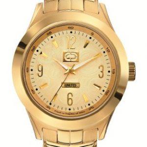 Marc-Ecko-E17530G1-Reloj-para-caballero-de-acero-inoxidable-oro-0