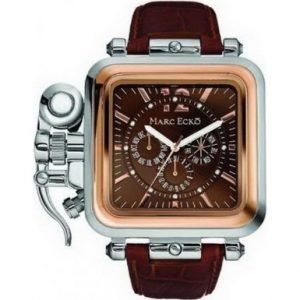 Marc-Ecko-E22590G1-el-calabozo-con-el-reloj-de-caballero-de-color-marrn-con-esfera-y-correa-de-piel-color-marrn-0