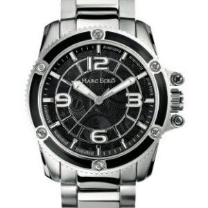 Marc-Ecko-M13583G5-Reloj-analgico-de-cuarzo-para-hombre-con-correa-de-acero-inoxidable-color-plateado-0