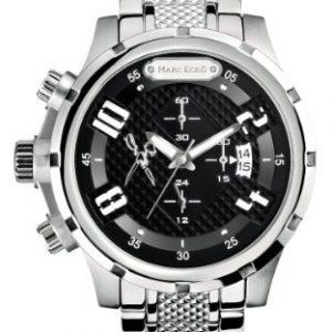 Marc-Ecko-M20074G1-Reloj-analgico-de-cuarzo-para-hombre-con-correa-de-acero-inoxidable-color-plateado-0