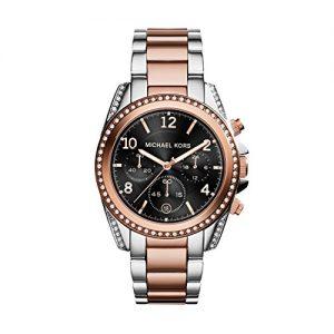 Michael-Kors-MK6093-Reloj-de-cuarzo-para-mujer-correa-de-acero-inoxidable-multicolor-0