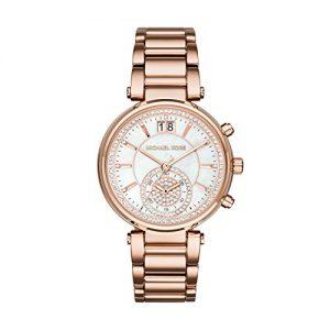 Michael-Kors-MK6282-Reloj-de-cuarzo-con-correa-de-acero-inoxidable-para-mujer-color-ncar-0