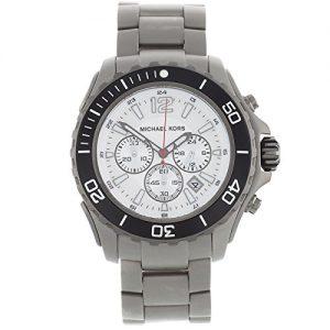 Michael-Kors-MK8230-Reloj-con-correa-de-acero-para-hombre-color-plateado-gris-0