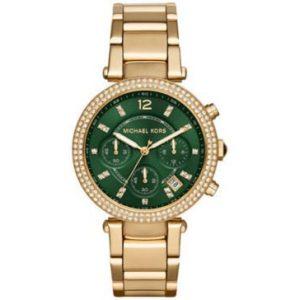 Michael-Kors-mk6263-tono-de-oro-Parker-S-S-WCristales-Reloj-NWT-0