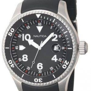 Nautica-N19536G-Reloj-de-pulsera-hombre-resina-color-negro-0