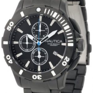 Nautica-N23536G-Reloj-para-hombres-color-negro-0