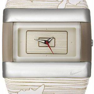 Nike-WC0024178-Reloj-con-correa-de-caucho-para-mujer-color-beige-gris-0