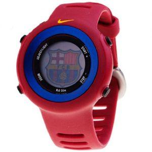 Nike-WD0139689-Reloj-con-correa-de-acero-para-nios-color-rojo-gris-0