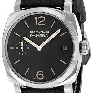 Panerai-Radiomir-1940-Mens-48mm-Automatic-Black-Calfskin-Date-Watch-PAM00514-0