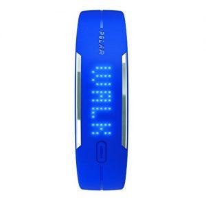 Polar-LOOP-rastreadores-de-actividad-Pasos-andados-Muequera-LED-AlmbricoInalmbrico-Polmero-de-litio-Azul-0