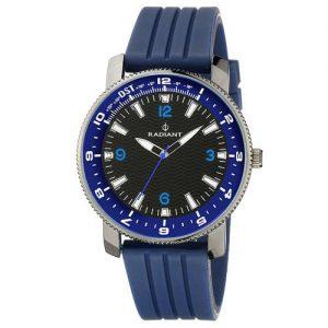 Radiant-RA106602-Reloj-con-correa-de-piel-para-hombre-color-negro-gris-0