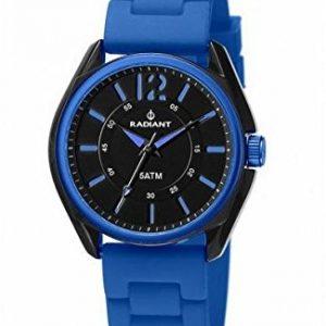 Radiant-RA229605-Reloj-para-hombre-con-correa-de-caucho-color-negro-gris-0