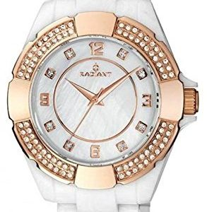 Radiant-RA257202-Reloj-con-correa-de-caucho-para-mujer-color-blanco-gris-0