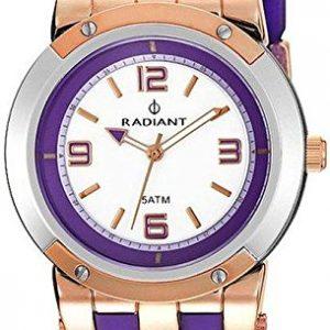 Radiant-RA268604-Reloj-con-correa-de-piel-para-mujer-color-blanco-gris-0