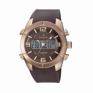 Ref-RA273603-Reloj-Radiant-Caballero-correa-caucho-caja-ionizada-analgico-digital-sumergible-50-metros-0