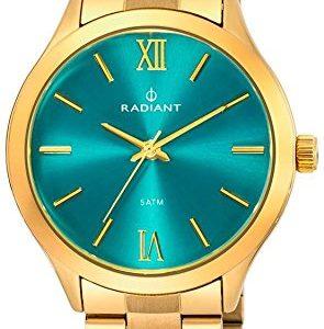 Ref-RA330205-Reloj-Radiant-Unisex-analgico-caja-y-brazalete-de-acero-dorado-esfera-azul-sumergible-50-metros-garanta-2-aos-0