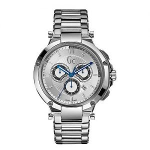 Reloj-Guess-Collection-Gc-Executive-X66004g1s-Hombre-Plateado-0