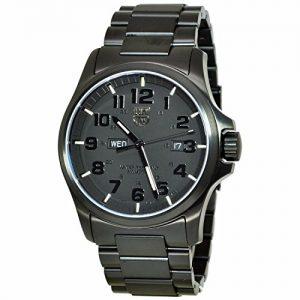 Reloj-de-cuarzo-analgico-Luminox-de-los-hombres-de-acero-inoxidable-de-color-negro-XL1922BOB-0