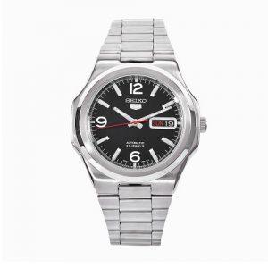 Seiko-SNKK59-Reloj-analgico-de-cuarzo-para-hombre-con-correa-de-acero-inoxidable-color-plateado-0