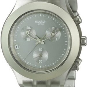 Swatch-SVCG4000AG-Reloj-analgico-de-caballero-de-cuarzo-con-correa-de-aluminio-marrn-0
