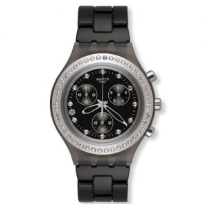 Swatch-SVCM4009AG-Reloj-para-hombres-correa-de-aluminio-0