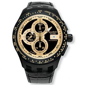 Swatch-SVGB401-Reloj-para-hombres-correa-de-cuero-0