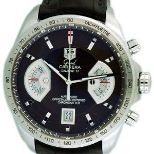 TAG-Heuer-CAV511EFC6231-Reloj-para-hombres-correa-de-cuero-color-verde-0