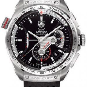 TAG-Heuer-Reloj-de-pulsera-mujer-caucho-color-negro-0