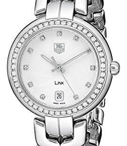 Tag-Heuer-Mujer-wat1316-Enlace-BA0956-analgico-pantalla-Cuarzo-Reloj-color-negro-y-plata-0