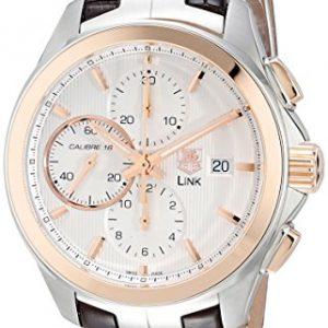 Tag-Heuer-cat2050-FC6322-43-mm-de-acero-inoxidable-con-tapa-de-piel-de-color-marrn-anti-reflectante-de-zafiro-reloj-de-los-hombres-0