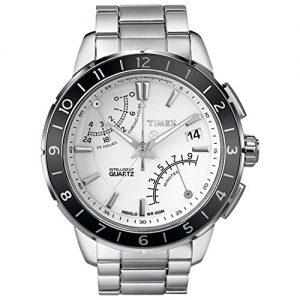 Timex-Chronograph-Reloj-elegante-para-hombres-Crongrafo-Flyback-0