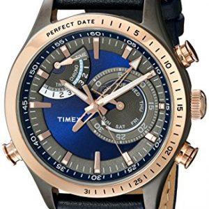 Timex-Hombre-tw2p72700dh-inteligente-cuarzo-Collection-Reloj-de-Pantalla-analgica-cuarzo-azul-0