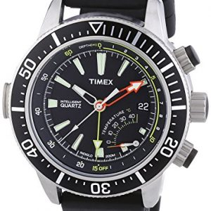 Timex-T2N810D7-Reloj-analgico-de-cuarzo-para-hombre-con-correa-de-resina-color-negro-0