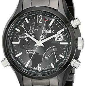 Timex-T2N946DH-Reloj-para-hombres-correa-de-acero-inoxidable-0