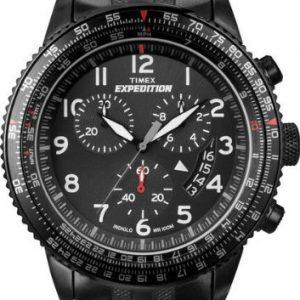 Timex-Uhr-Uhren-Reloj-unisex-de-cuarzo-correa-de-acero-inoxidable-color-varios-colores-con-crongrafo-0