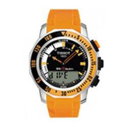 Tissot-T0264201728103-Reloj-crongrafo-de-caballero-automtico-con-correa-de-acero-inoxidable-naranja-0
