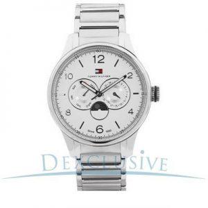 Tommy-Hilfiger-1710254-Reloj-de-pulsera-hombre-acero-inoxidable-color-plateado-0