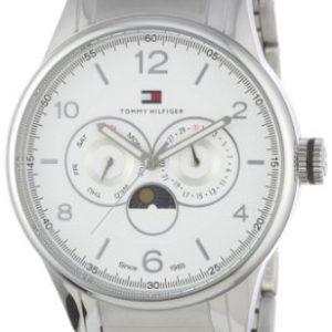 Tommy-Hilfiger-1710254-TH-WTCH-Reloj-analgico-de-cuarzo-para-hombre-con-correa-de-plata-color-plateado-0