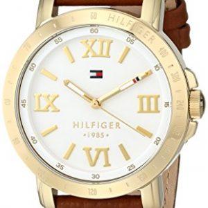 Tommy-Hilfiger-1781438-Reloj-para-mujeres-correa-de-cuero-color-marrn-0