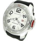 Tommy-Hilfiger-1790711-45-mm-de-acero-inoxidable-para-hombre-de-goma-en-color-negro-para-hombre-reloj-Mineral-0