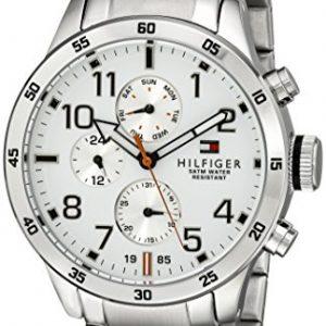 Tommy-Hilfiger-De-los-hombres-Analgico-Casual-Cuarzo-Reloj-1791140-0
