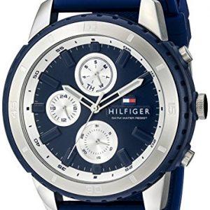 Tommy-Hilfiger-De-los-hombres-Analgico-Casual-Cuarzo-Reloj-1791193-0