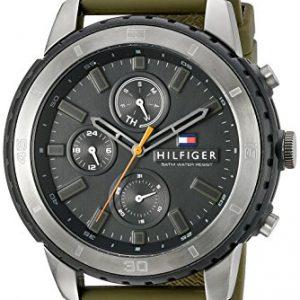 Tommy-Hilfiger-De-los-hombres-Analgico-Dress-Cuarzo-Reloj-1791192-0