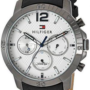 Tommy-Hilfiger-hombres-de-cuarzo-Metal-y-piel-reloj-automtico-color-negro-modelo-1791271-0