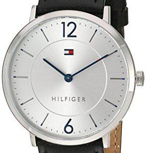 Tommy-Hilfiger-hombres-de-sofisticado-Sport-de-cuarzo-reloj-automtico-de-piel-y-acero-inoxidable-color-negro-modelo-1710351-0
