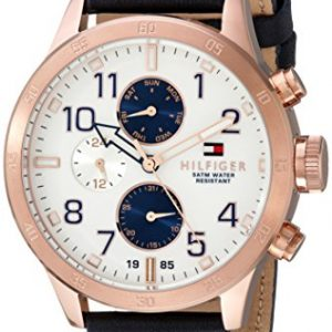 Tommy-Hilfiger-para-hombre-1791139-Cool-Sport-de-cuarzo-analgica-azul-reloj-0