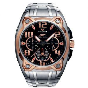 Viceroy-47625-95-Reloj-para-hombres-correa-de-acero-inoxidable-0